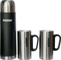 Подарочный набор Rosenberg термос 500 мл и две кружки по 250 мл