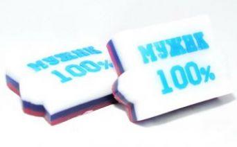 Мыльное ассорти/фигурное МУЖИК 100%, 90g