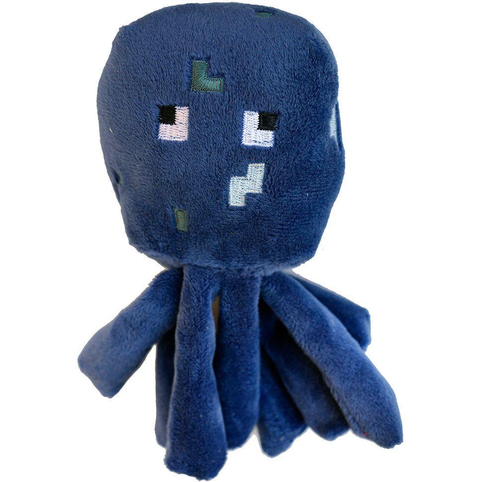 Плюшевый осьминог из Майнкрафт