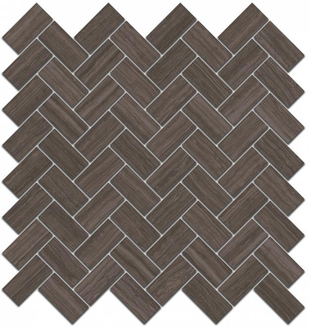 190/003 | Декор Грасси коричневый мозаичный