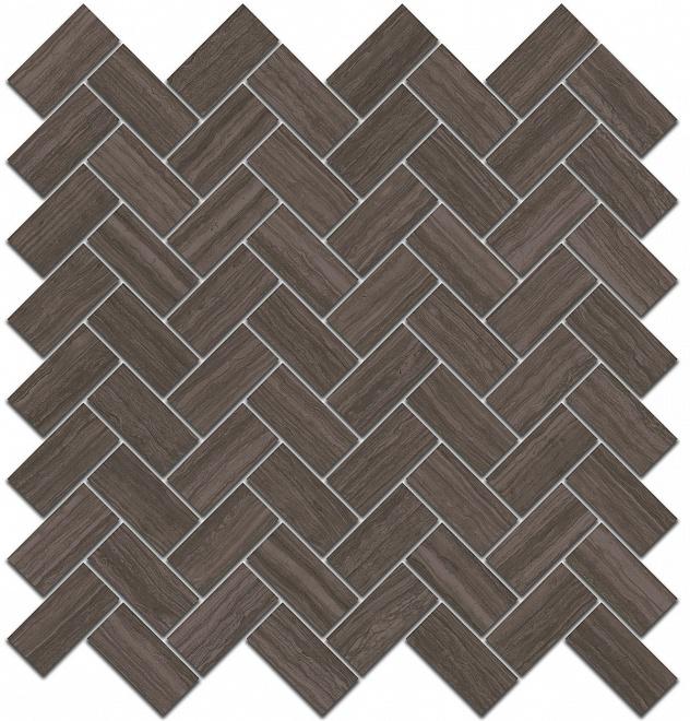 SG190/003 | Декор Грасси коричневый мозаичный