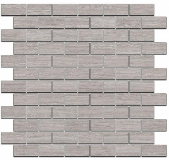 MM13039 | Декор Грасси серый мозаичный