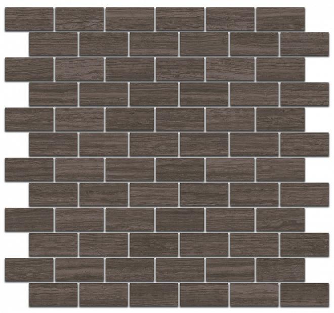 SG191/003 | Декор Грасси коричневый мозаичный