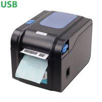 Термальный принтер этикеток Xprinter XP-370B black черный USB