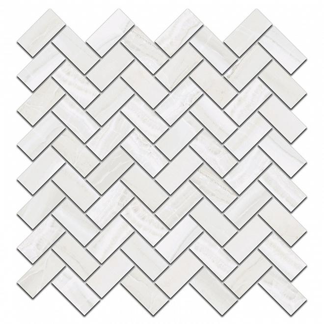 190/005   Декор Контарини белый мозаичный