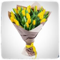 Букет из тюльпанов 25шт