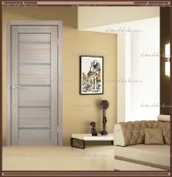 Межкомнатная дверь DUPLEX  Капучино, стекло - Мателюкс :