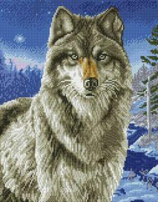 Алмазная мозаика «Хищник» 40x50 см
