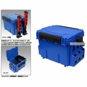 Ящик рыболов. Meiho Bucket Mouth Blue 475/335/320 (BM-7000-BLUE)