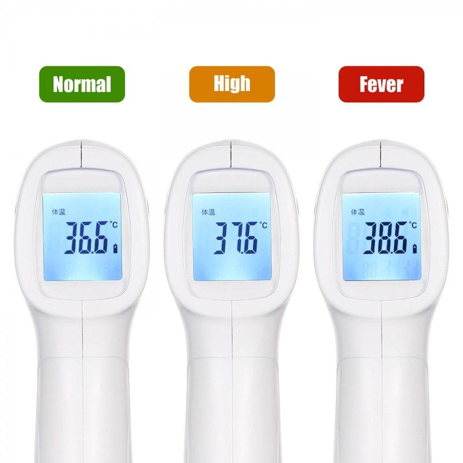 Бесконтактный инфракрасный термометр QQZM TF-600