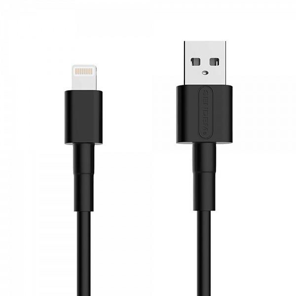 Кабель USB 5А SENDEM M66 Черный (iOS Lighting) 1м