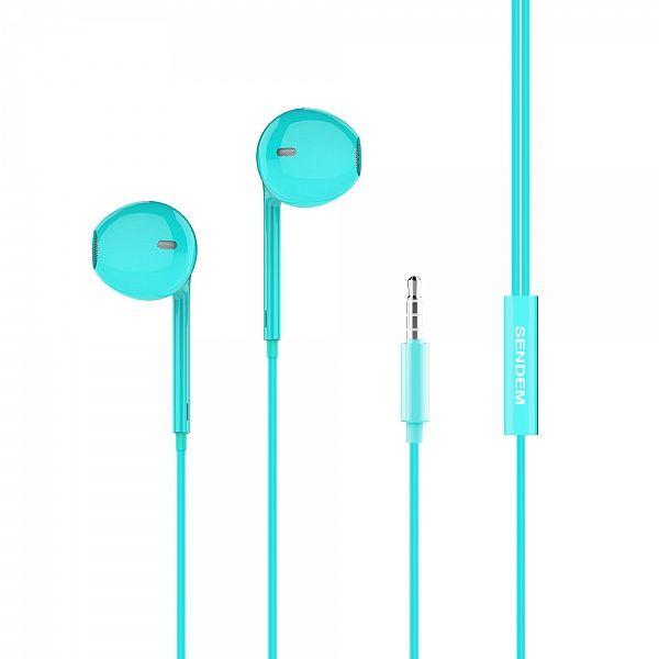 SENDEM X28 Синие наушники - гарнитура