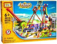 Электромеханический конструктор LOZ Amusement Park 2012 Pirate Ship пиратский корабль (качели) 287 деталей