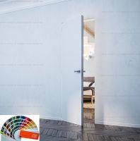 Скрытая дверь, полотно крашеное по RAL
