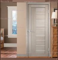 Межкомнатная дверь LINEA 3  Капучино, стекло - Мателюкс :