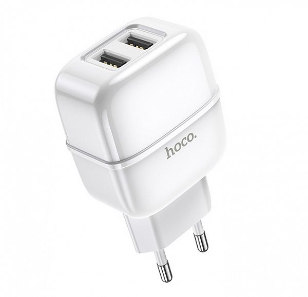 Зарядное устройство с USB HOCO C77A Белый (2400mA,5V)