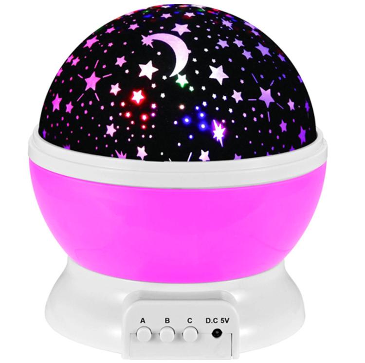 Ночник-проектор Sky Star Master, розовый