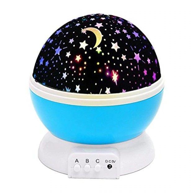 Ночник-проектор Sky Star Master, голубой