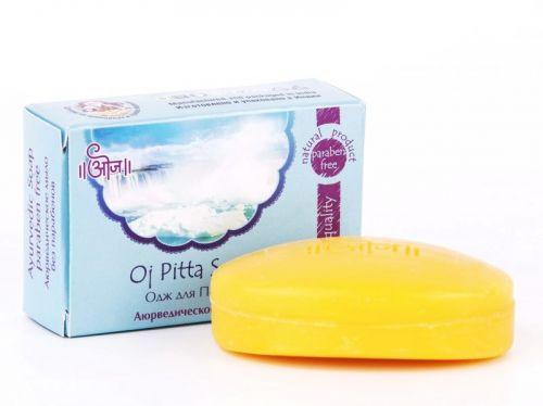 Мыло аюрведическое терапевтическое Одж для Питты | 100 г | Oj Pitta Soap