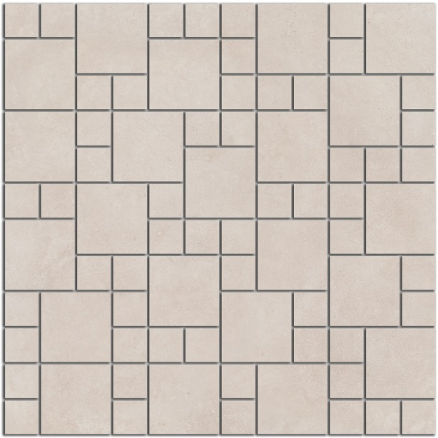 SG185/001 | Декор Александрия светлый мозаичный