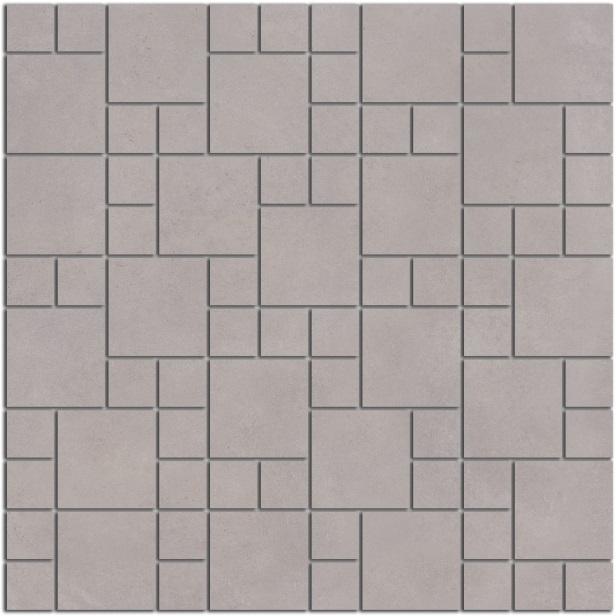 SG185/002 | Декор Александрия серый мозаичный