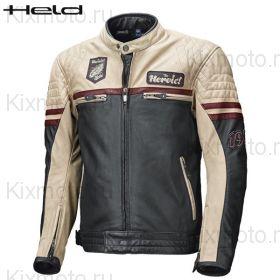 Куртка Held Baker, Чёрно-кремовая