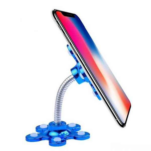 Гибкий держатель телефона на присосках Magic Suction Cup Phone Bracket