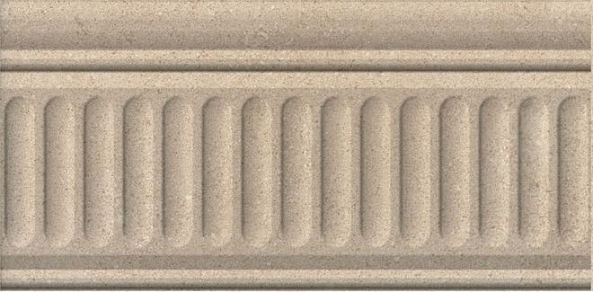 19022/3F   Бордюр Золотой пляж тёмный беж структурированный