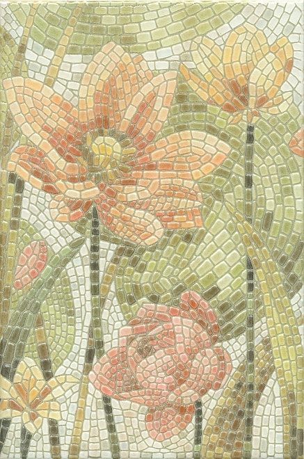HGD/A146/880L | Декор Летний сад Лилии лаппатированный