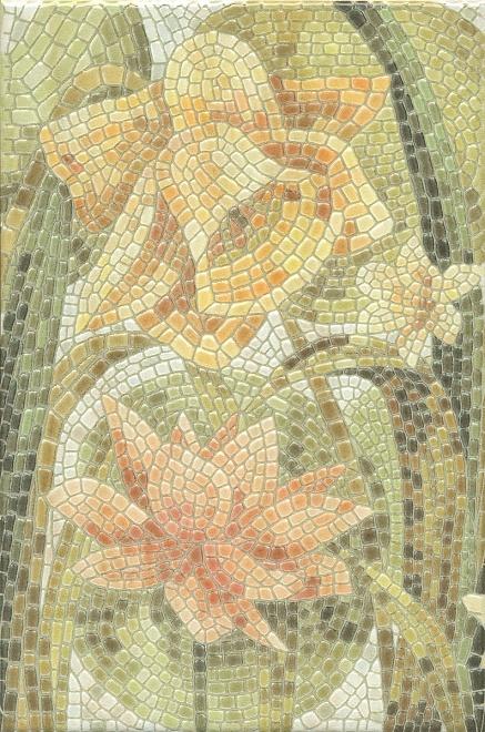 HGD/A145/880L | Декор Летний сад Лилии лаппатированный