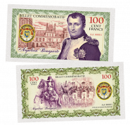 100 Cent FRANCS (франков) - Наполеон Бонапарт. Франция (Napoleon Bonaparte. France).