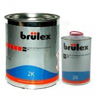 Brulex Белый 2K-HS-Порозаполнитель 4+1, 3,5 л. + 2К отвердитель быстродействующий.
