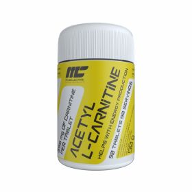 Acetyl Carnitine 500 мг от Muscle Care 90 таб