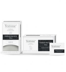 Чай Teatone пакетированный Индийский   25пак./1уп.