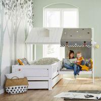 Кровать Домик угловой Fairy Land №14 (любые размеры)