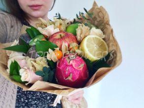 Букет из экзотических фруктов «Райское наслаждение»