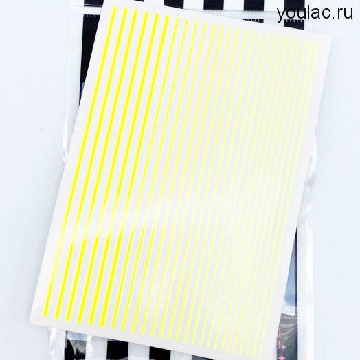 Гибкая лента , неоновая коллекция ( желтая)