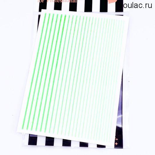 Гибкая лента , неоновая коллекция ( салатавая)