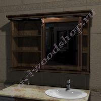 Шкаф с раздвижным зеркалом