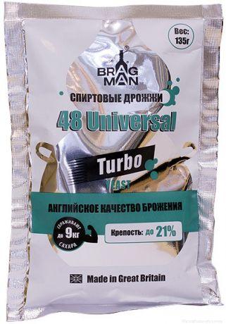 Спиртовые Турбо Дрожжи Bragman 48 Universal, 135 гр