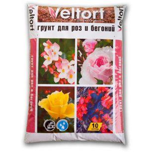 "Грунт для роз и бегоний 10л ""Veltorf"""
