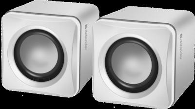 Акустическая 2.0 система SPK 33 белый, 5 Вт, питание от USB