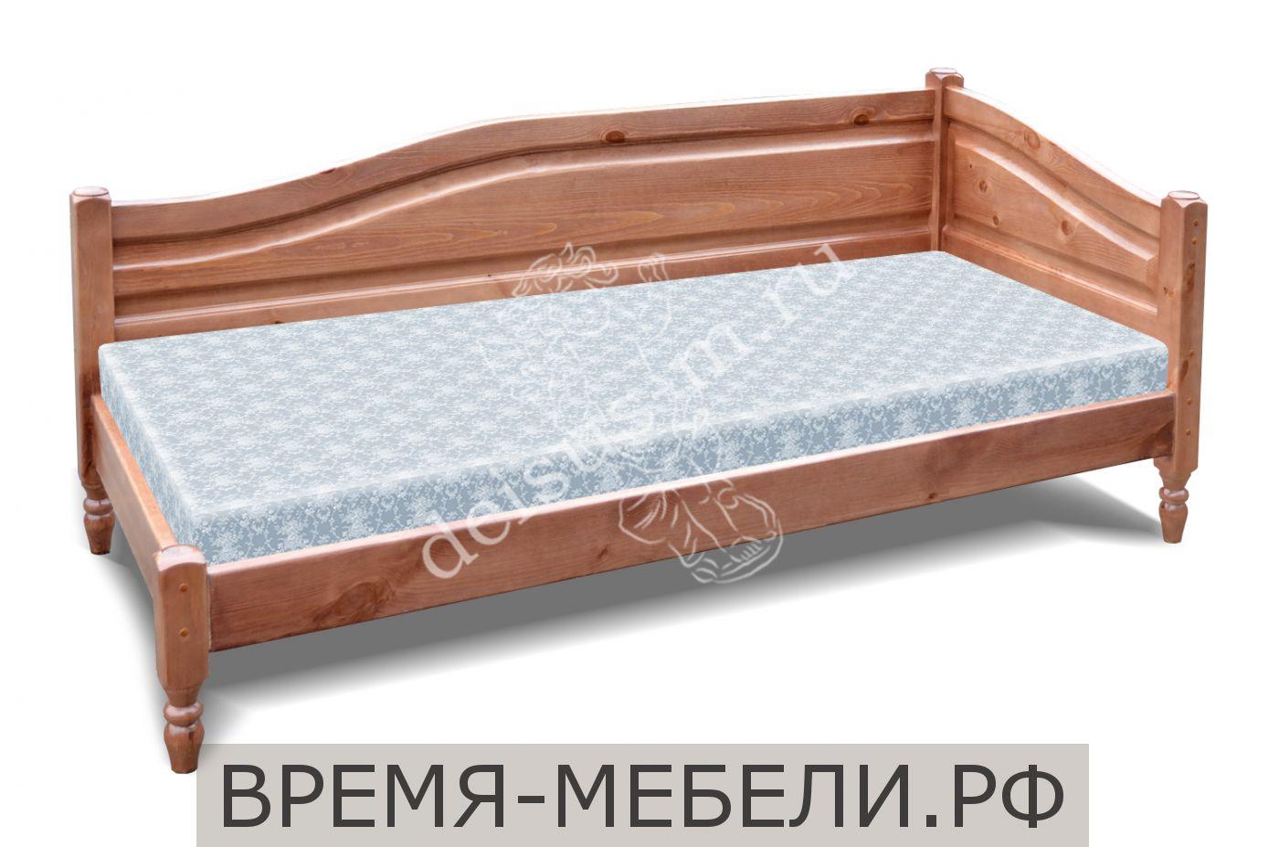 Кровать Угловая-М 2 спинки