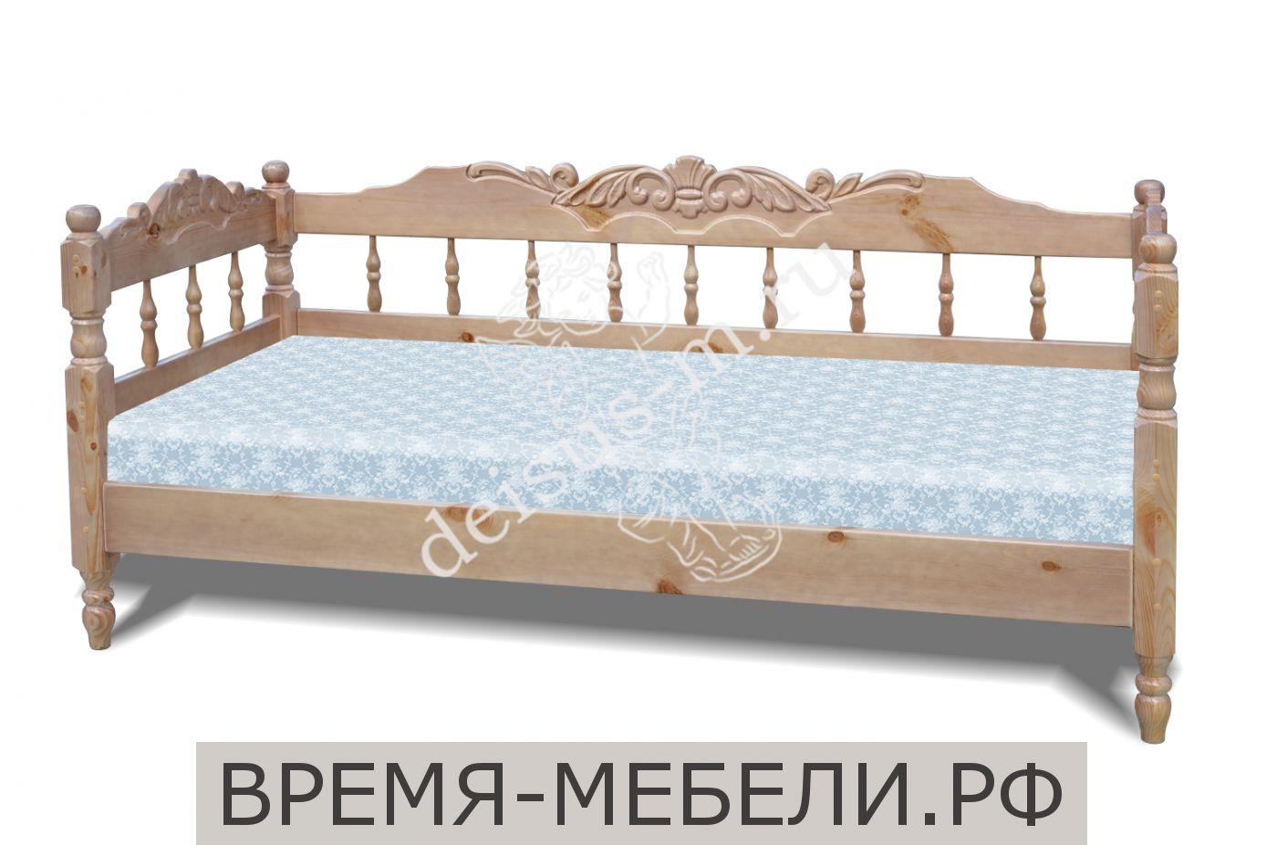 Кровать Адель-М 3 спинки