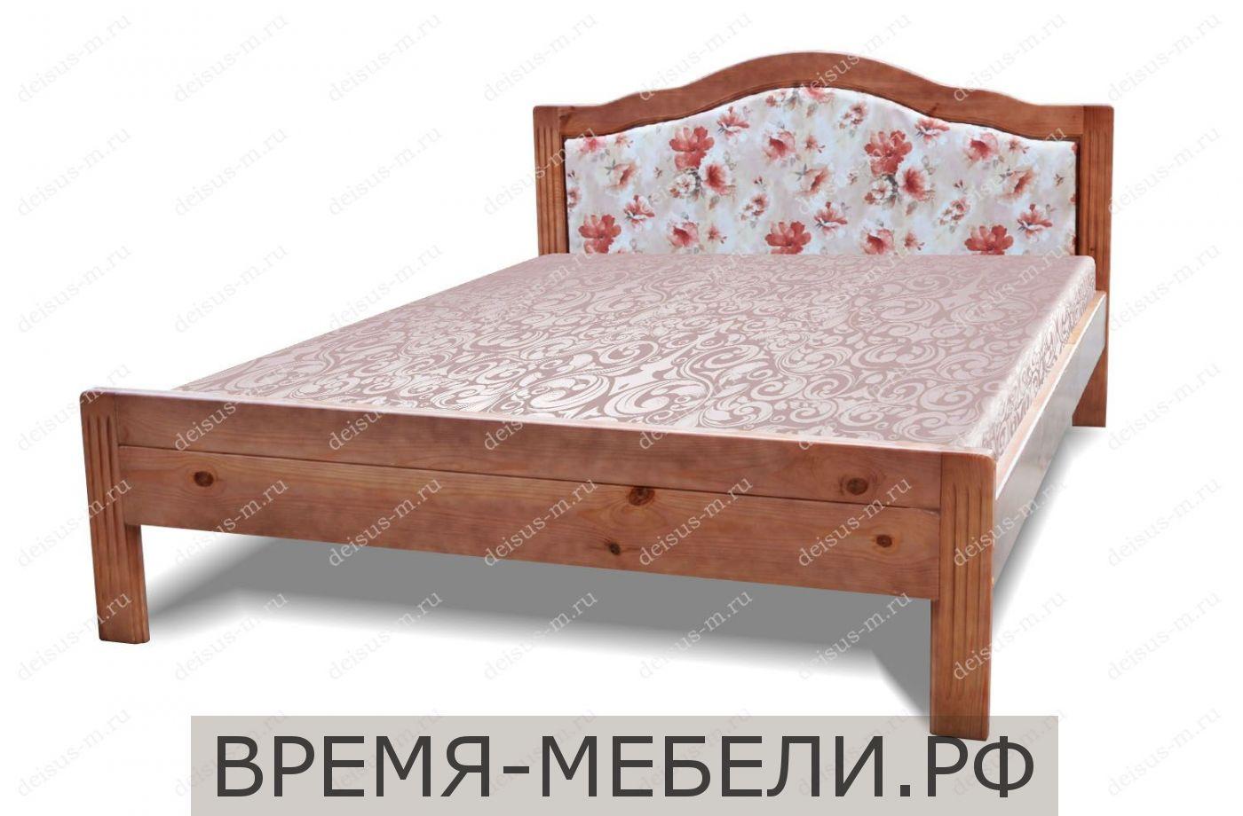 Кровать Лотос-М с мягкой спинкой