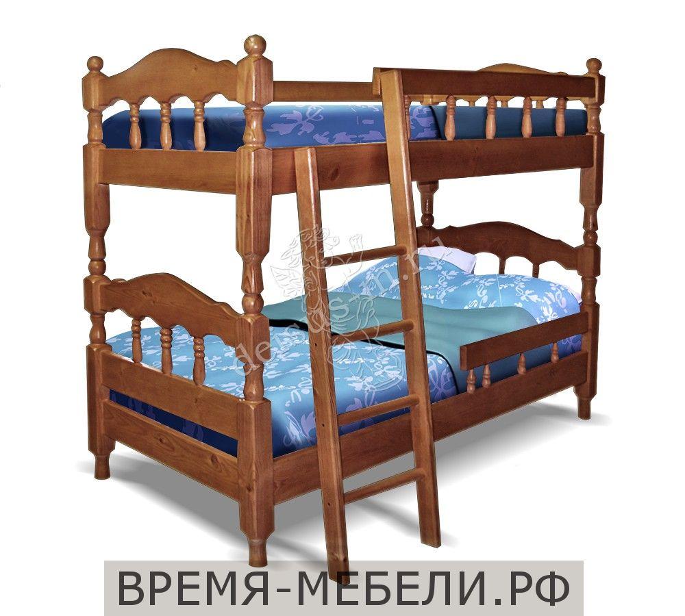 Кровать Каролина-М двухъярусная