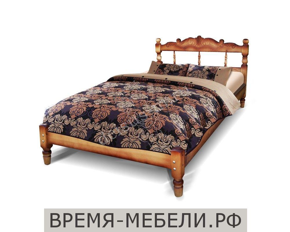 Кровать тахта Точенка-М резьба объемная