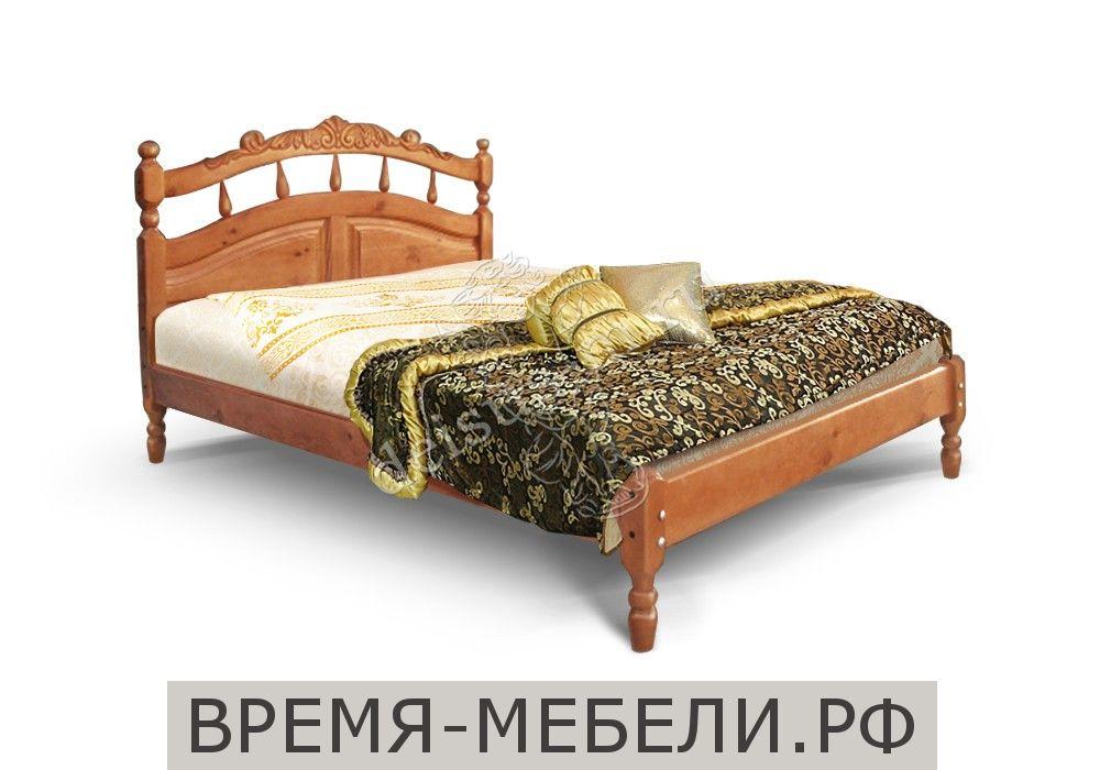 Кровать тахта Джулия-М с резьбой