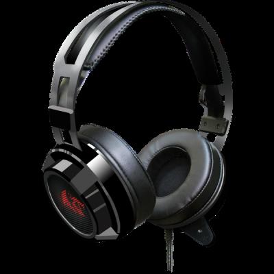 Распродажа!!! Игровая гарнитура Siren красный + черный, кабель 2 м