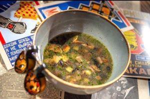 Грибной суп 200г, 140 ккал